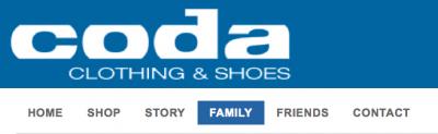 Coda Family Page