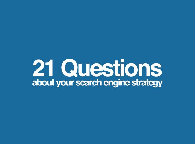 search engine strategy