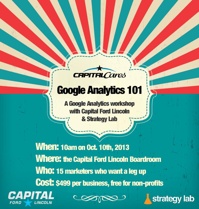 Strategy Lab Google Analytics Workshop