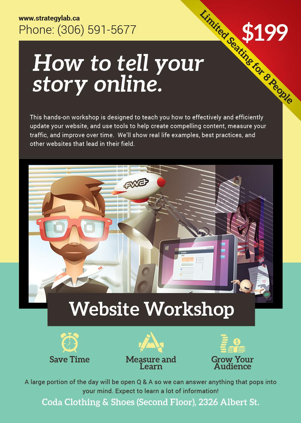 website workshop regina