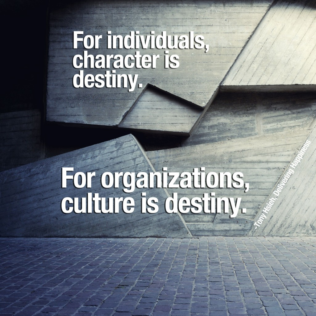 Quotes On Culture Quotestonyhsiehcultureisdestiny1024X1024  Strategy Lab