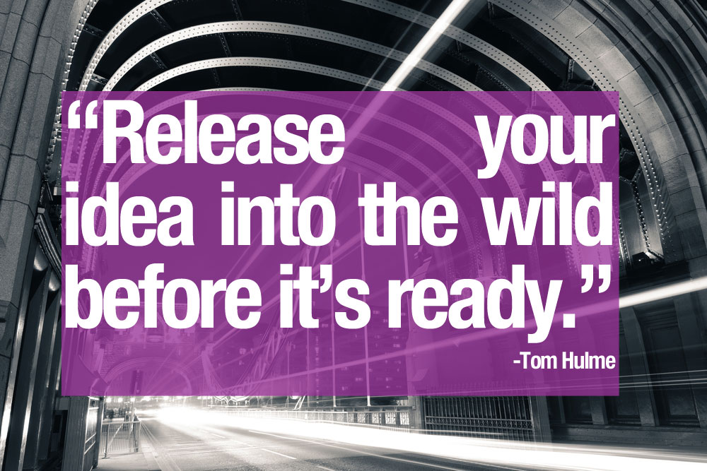 release-your-idea-into-the-wild-before-it-is-ready
