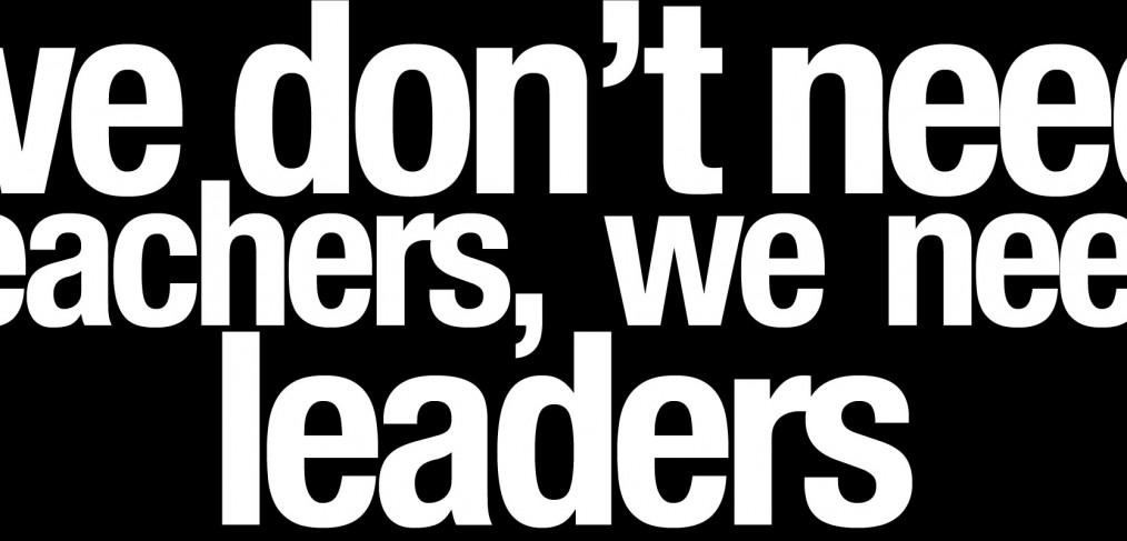 We don't need teachers