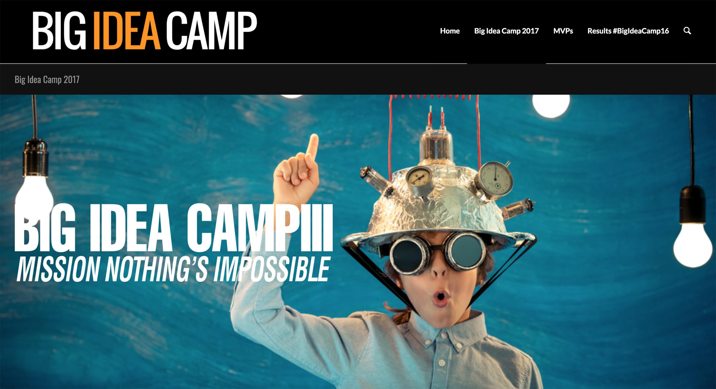 big idea camp website