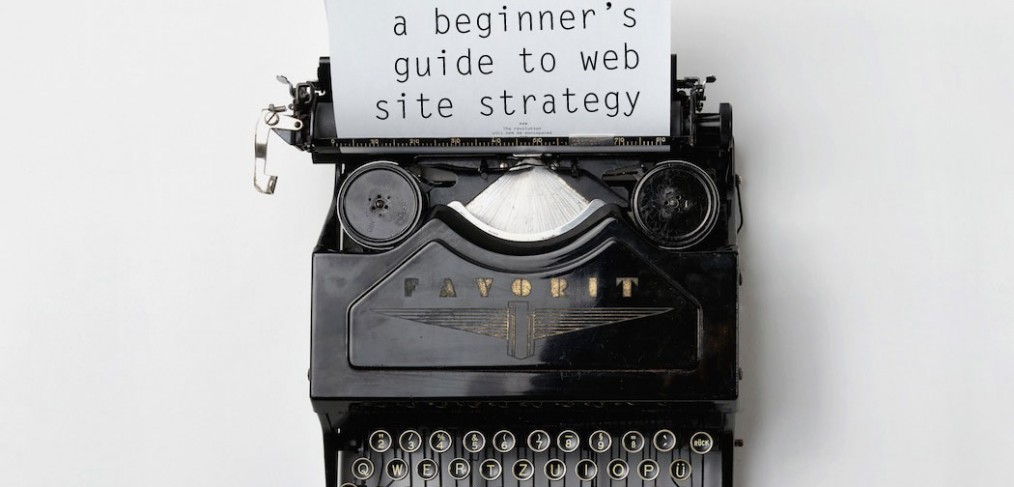 a beginners guide to website strategy