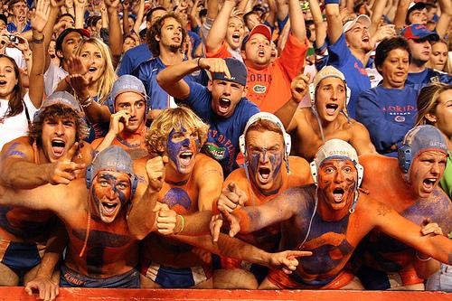 Crazy Florida Gators fans
