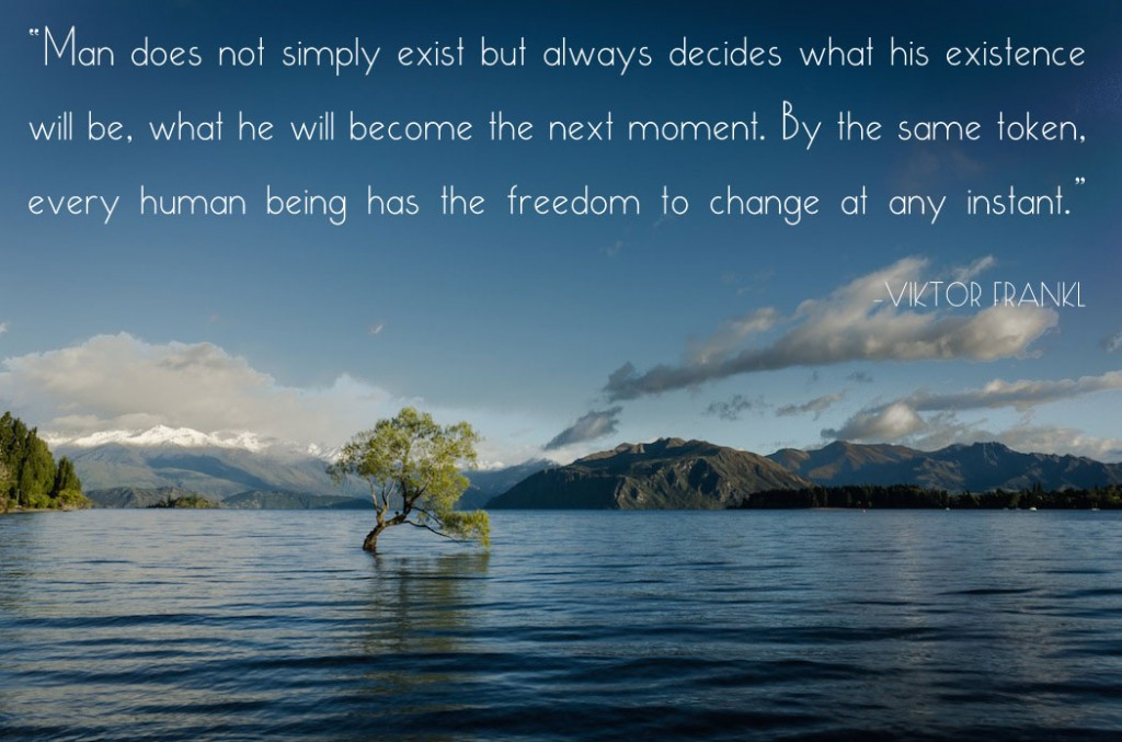 Every human being has the freedom to change at any instant