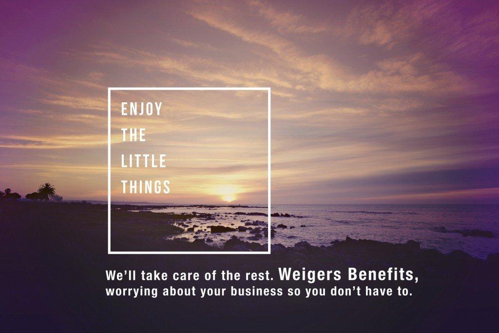 Enjoy the little things-Wiegers benefits saskatoon