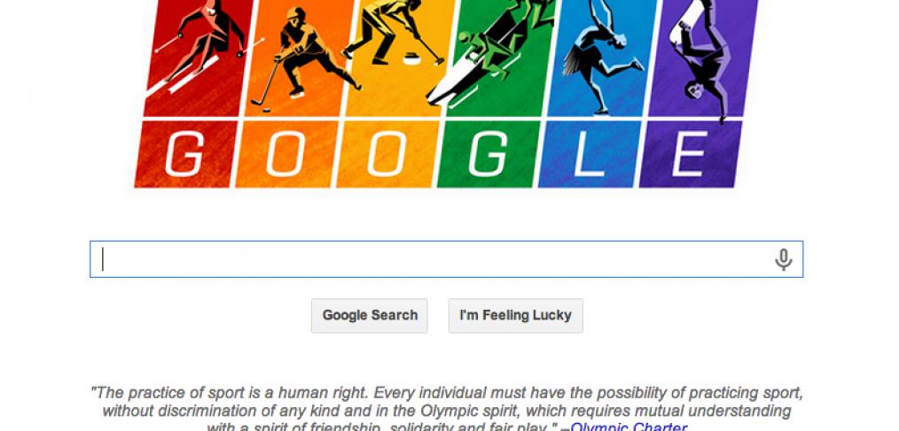 Google goes rainbow