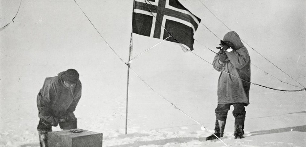 Roand Asmunsen at the south pole