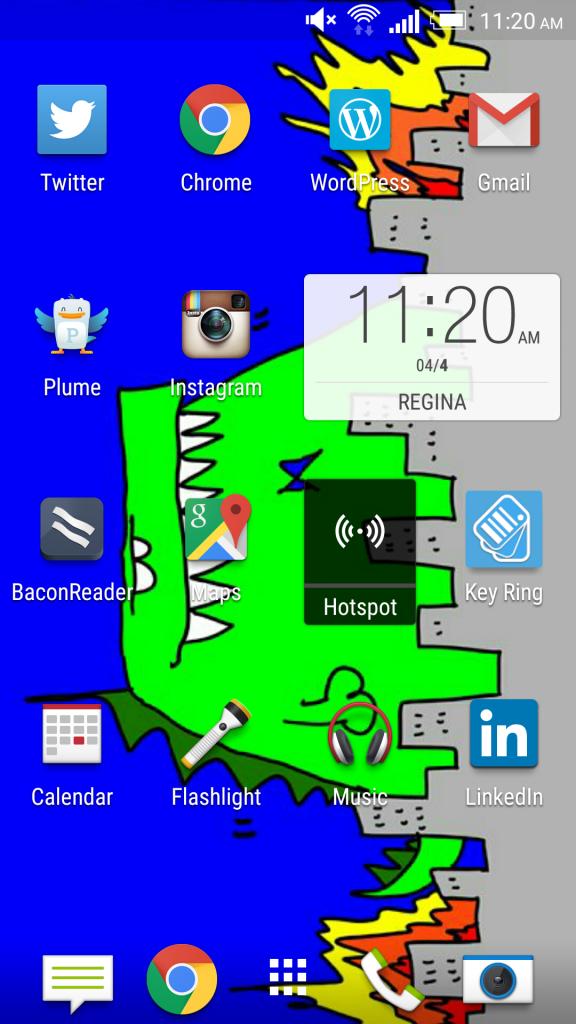 Phone Wallpaper-Disrupt-HughMacleod