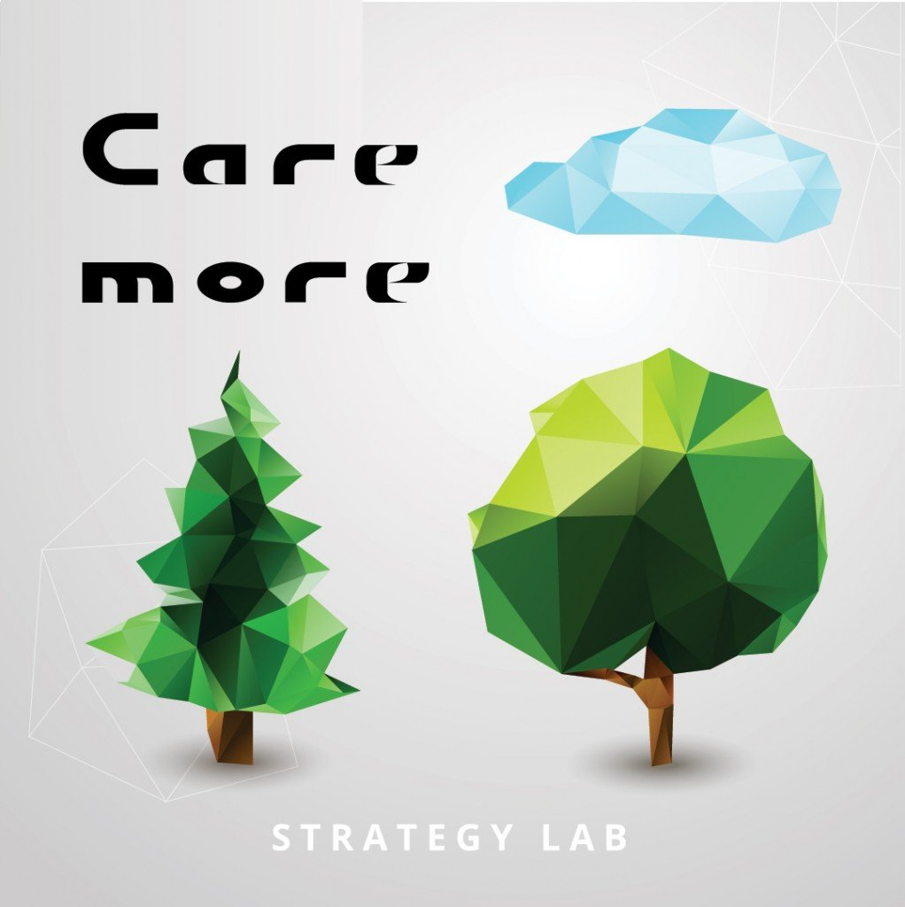 Care More Strategy Lab Stickers