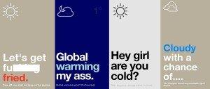 Authentic Weather App Screen Shots