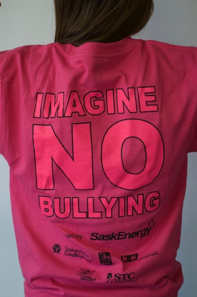 Imagine no bullies campaign tshirt