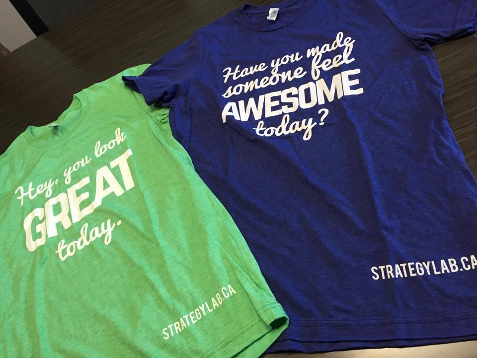 Strategy Lab T-shirts-Strategy Lab Marketing