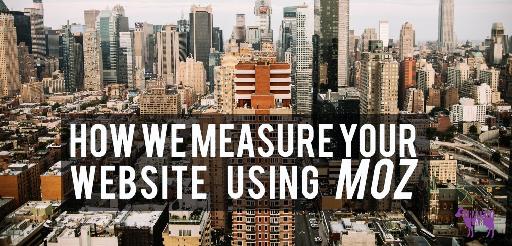How we measure your website using Moz