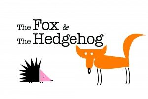 The Fox and the Hedgehog-Im not that good at a lot of things