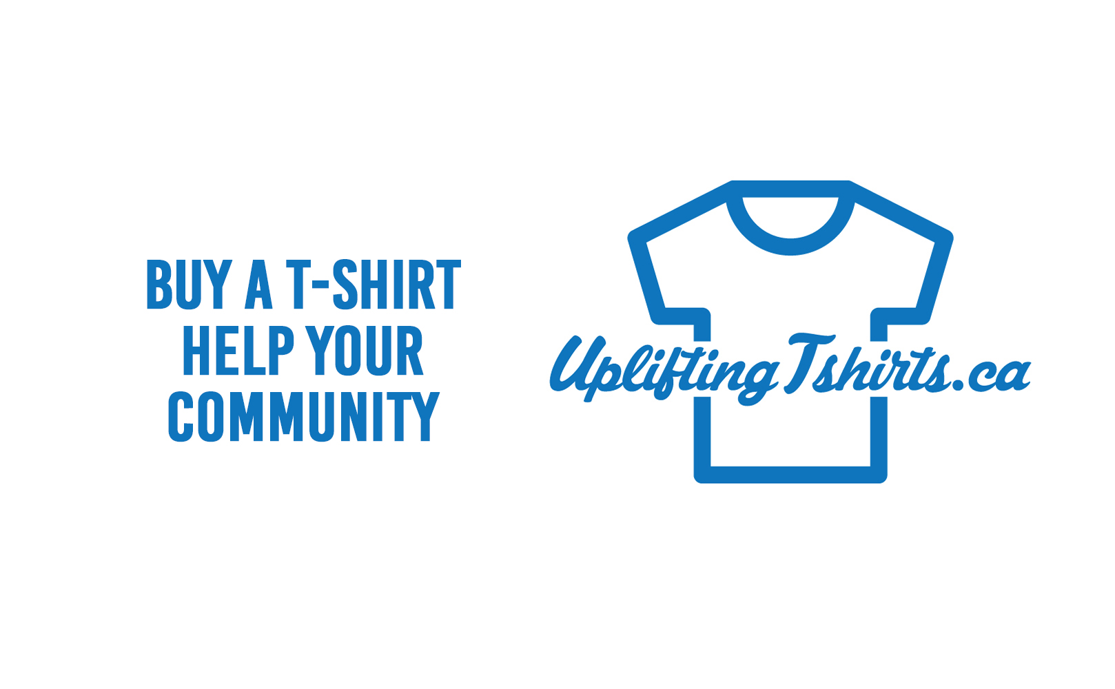 Buy tshirt help your community