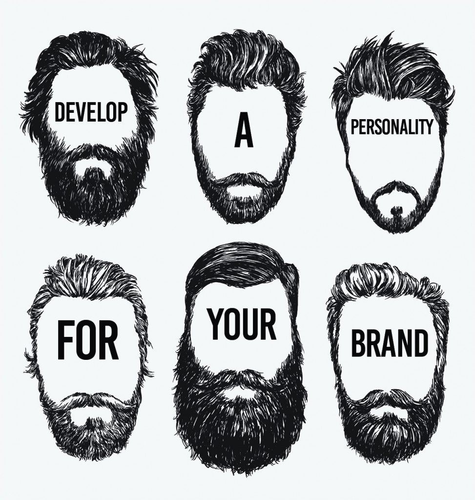 Develop a personality for your brand