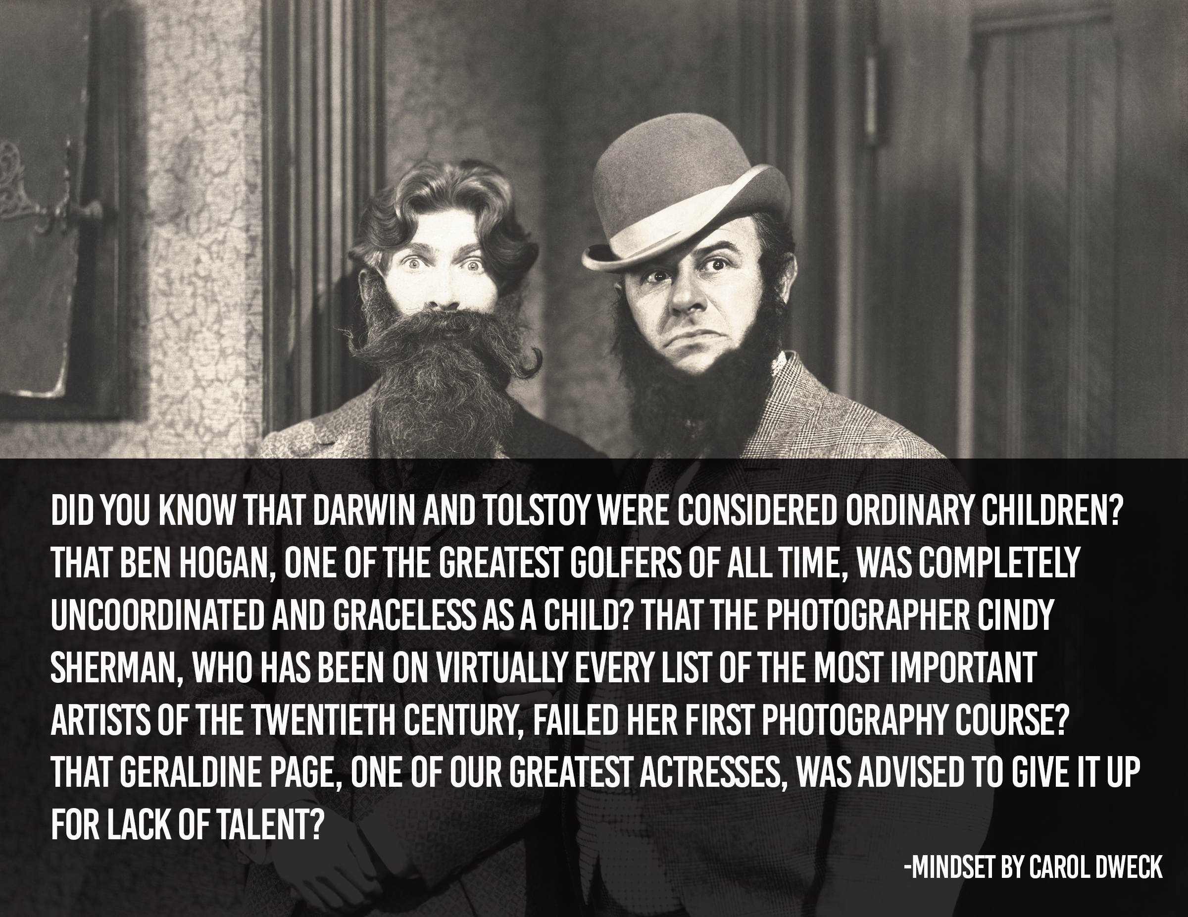 Did you know that Darwin and Tolstoy were considered ordinary children