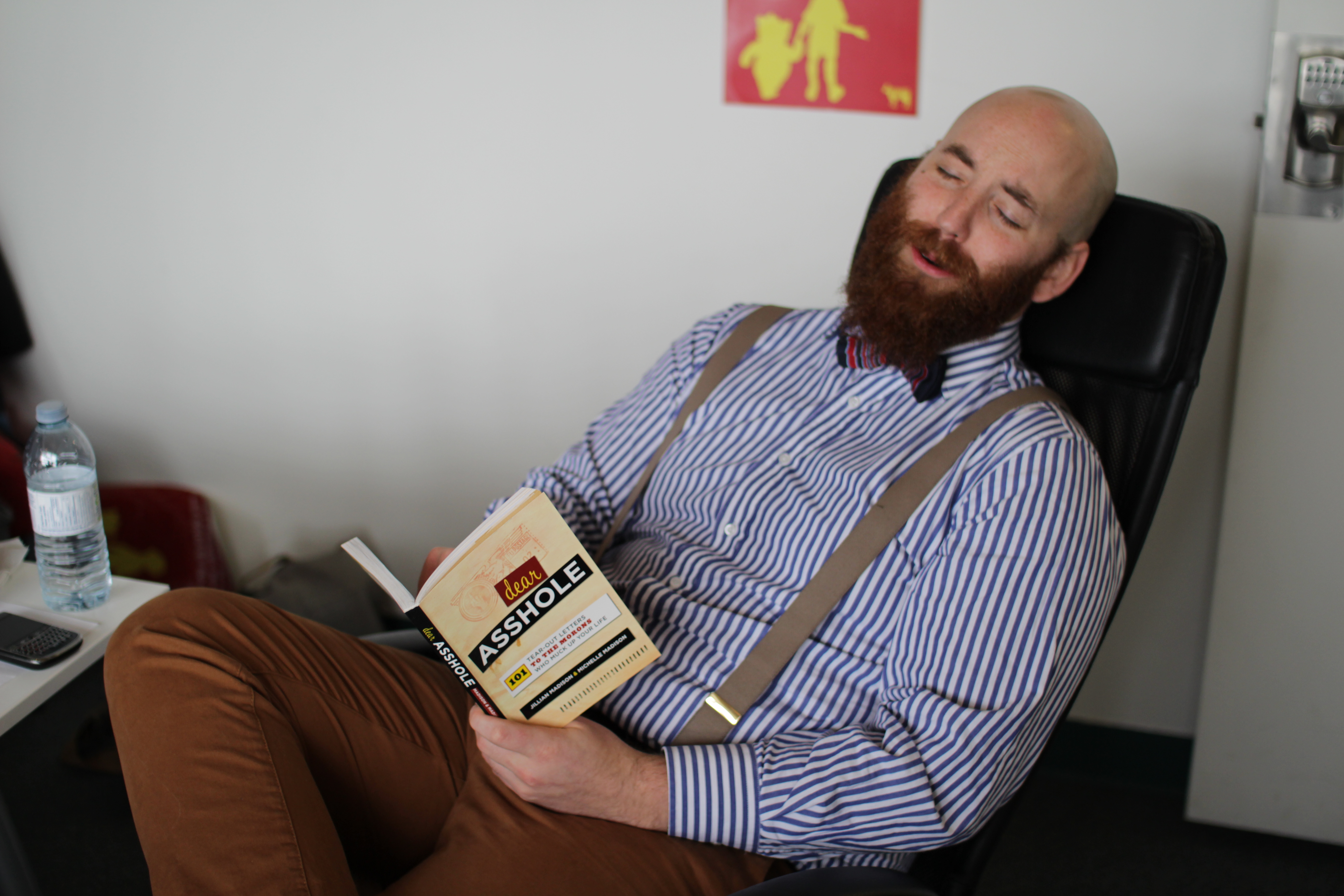Professional Stock Photos-the im ammused by a good book