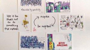 Stratlab Postcard from gapingvoid cartoons