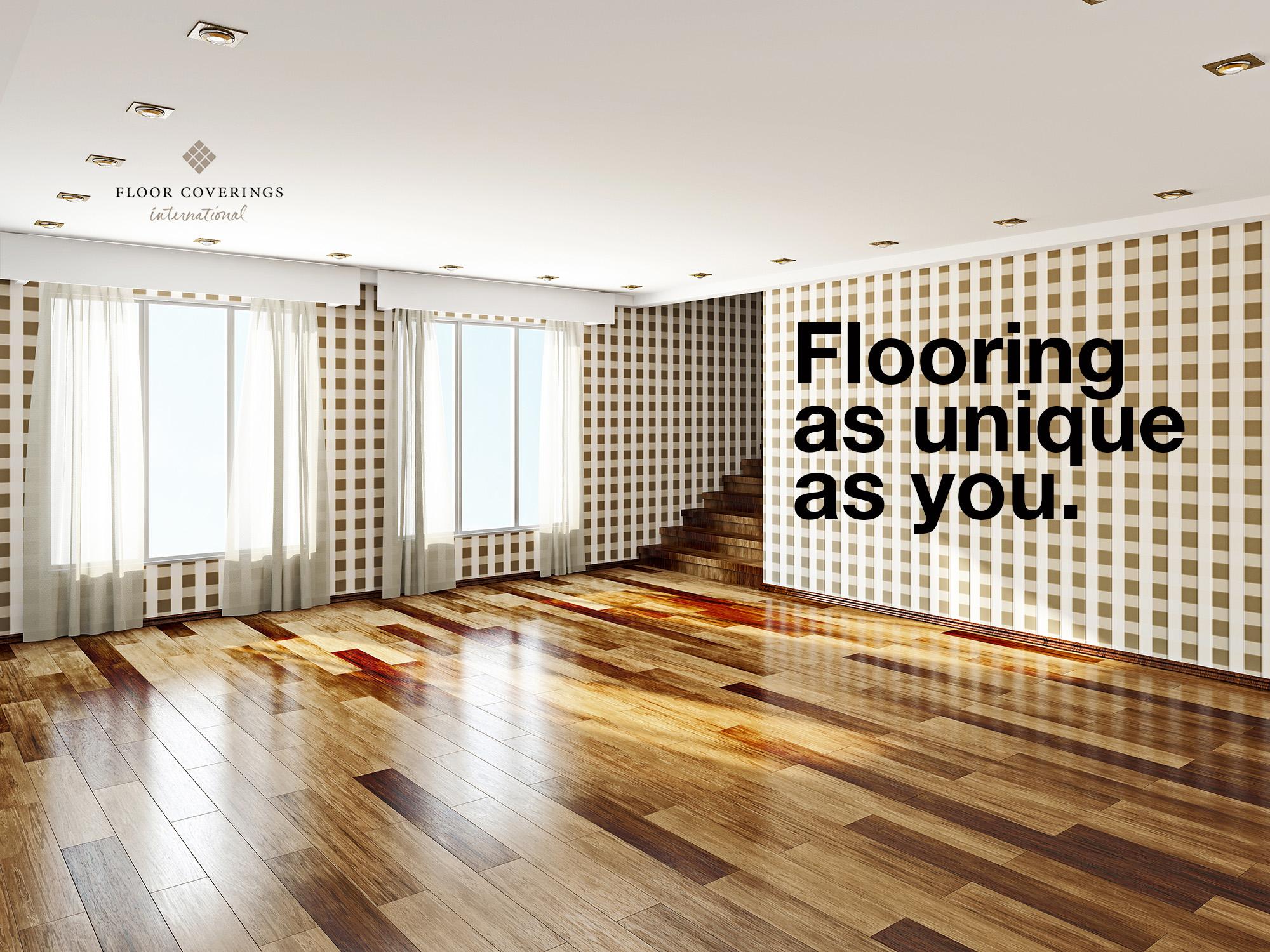 Flooring as unique as you