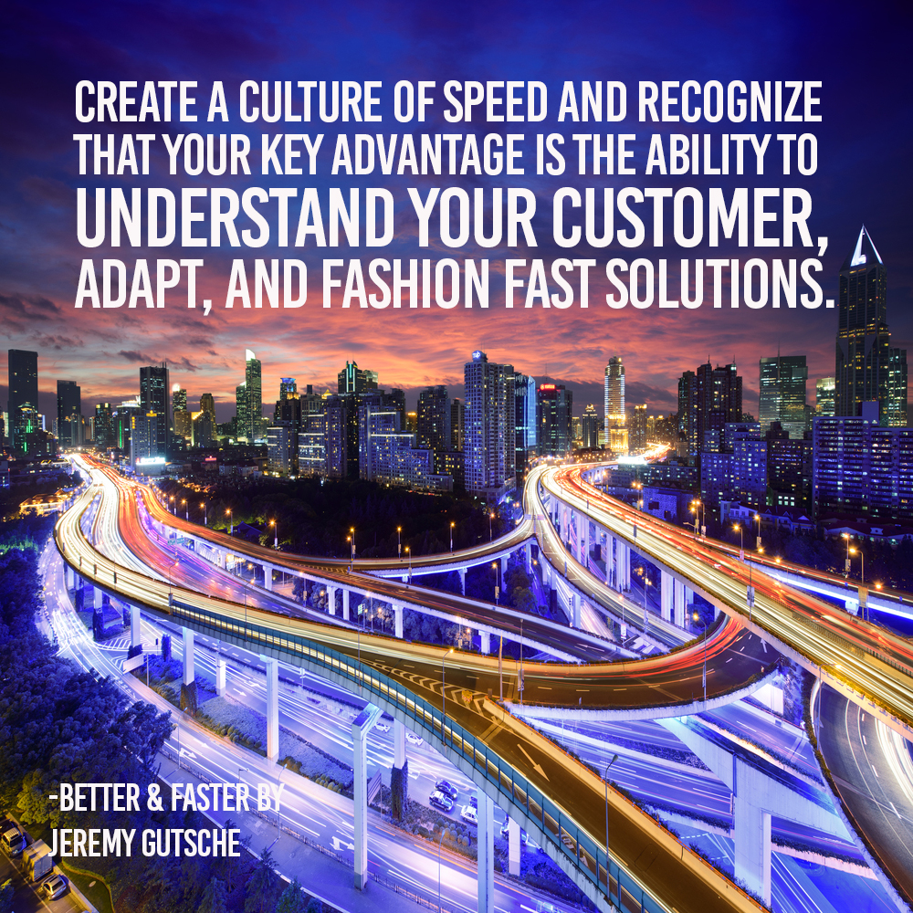 understand your customer adapt and fashion fast solutions