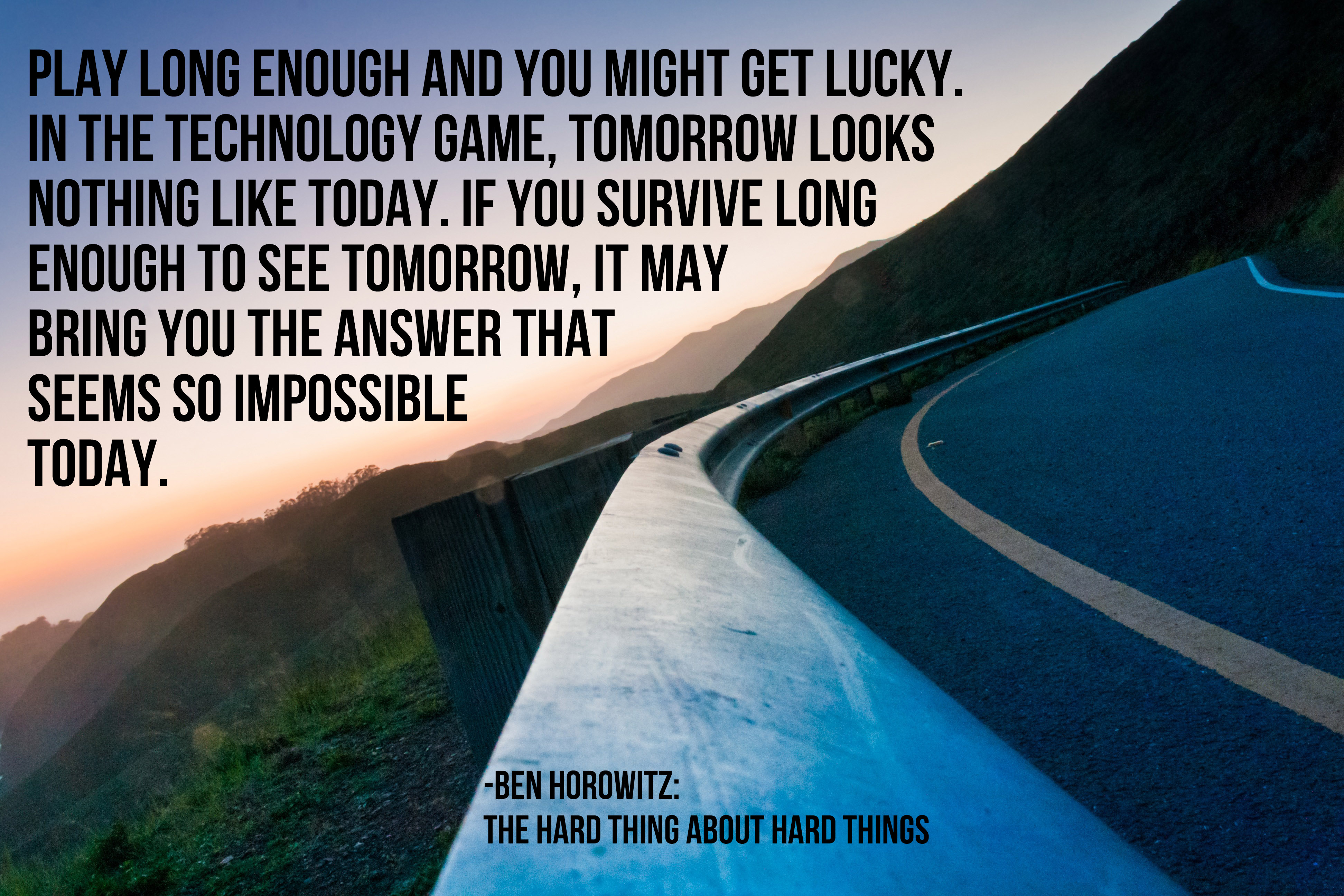 it may bring you the answer that seems so impossible today