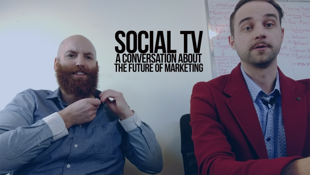 Social tv a conversation about the future of marketing