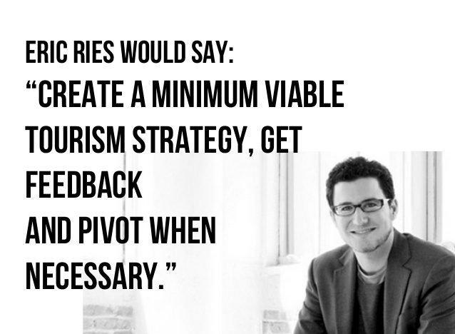 Create your minimum viable tourism project