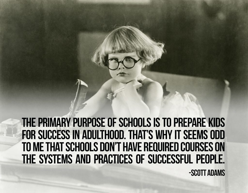 the-primary-purpose-of-schools-is-to-prepare-kids-for-success-in-adulthood