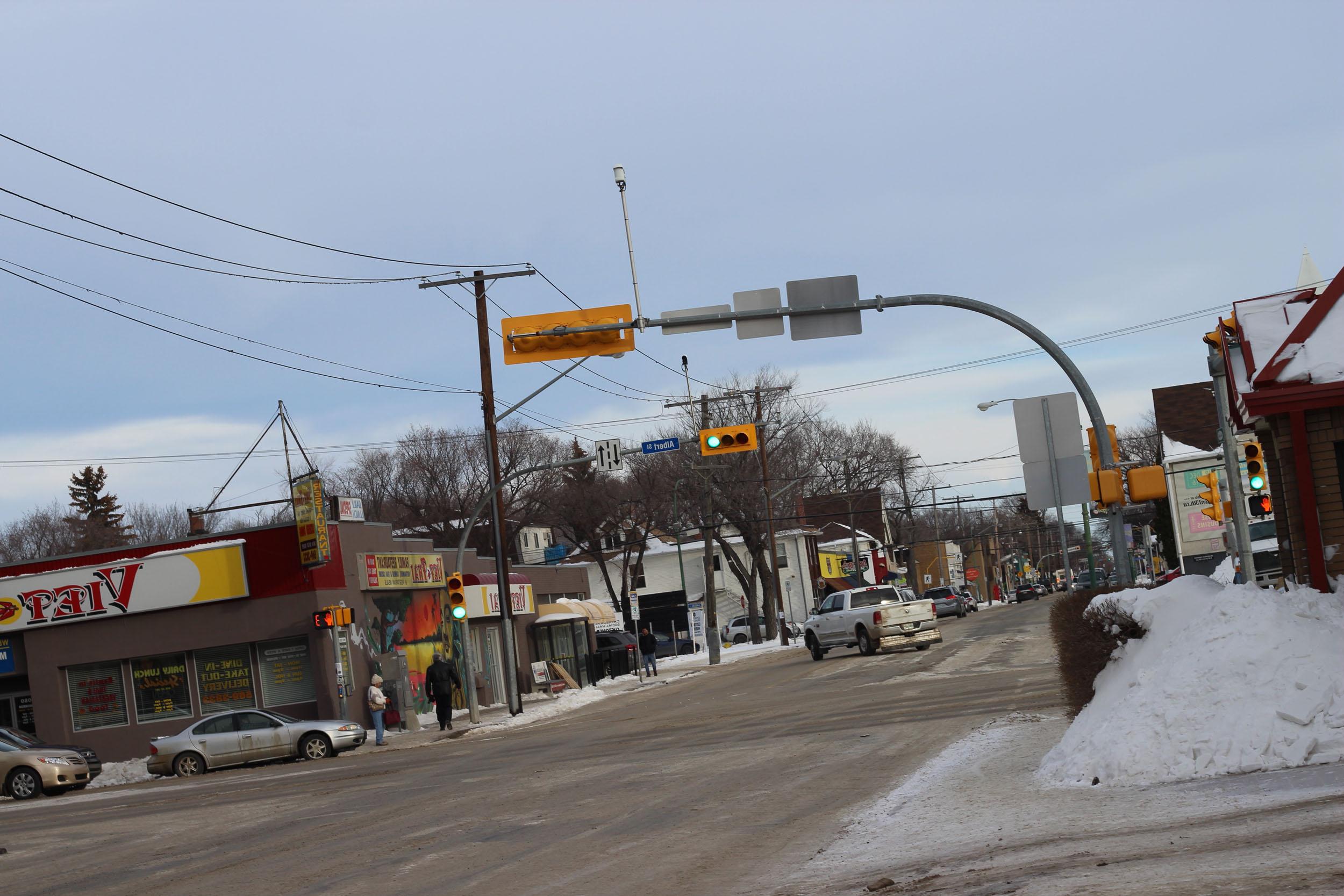 street light regina