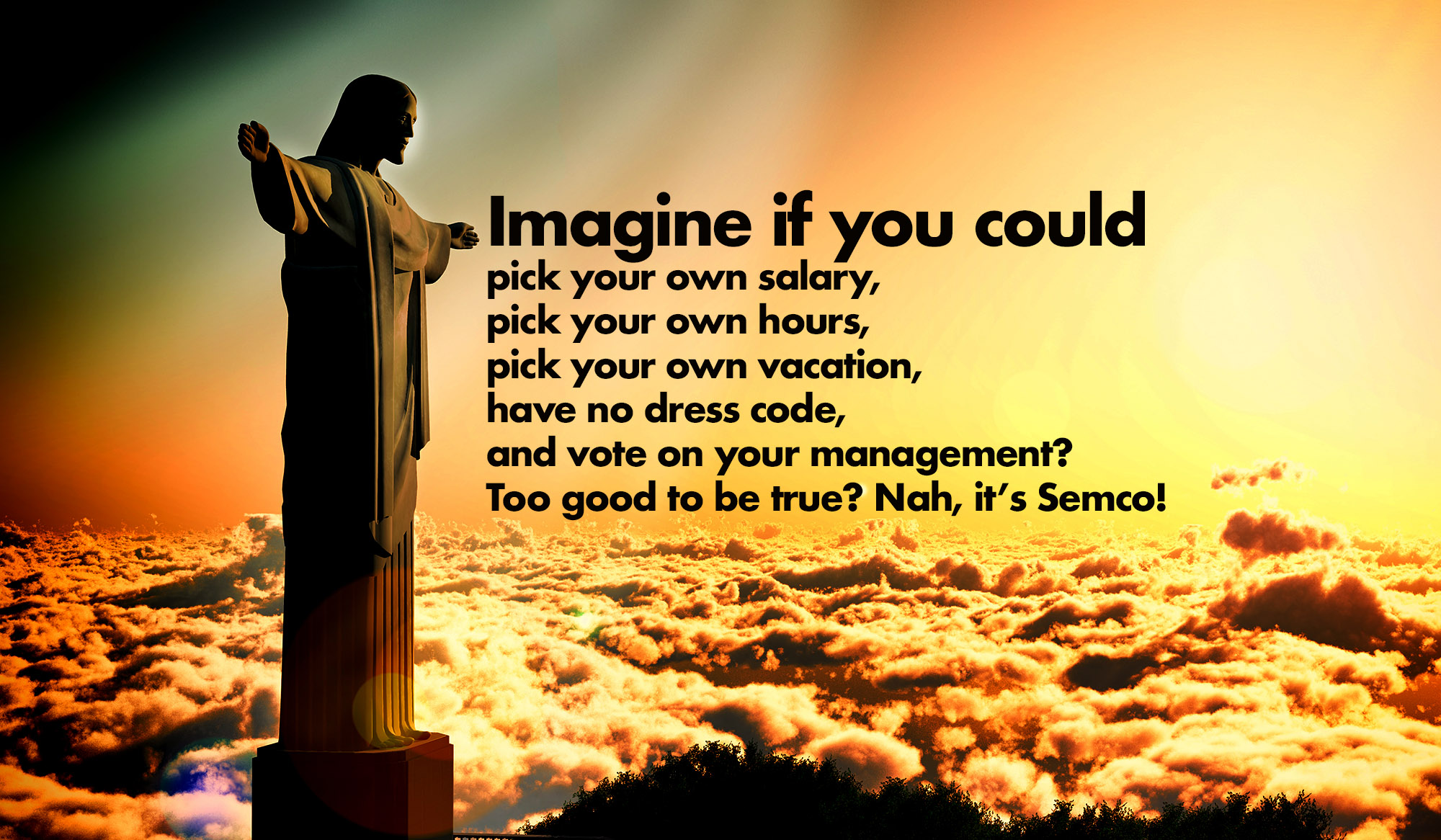 Imagine if you could