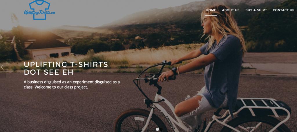 Uplifting T-shirts.ca