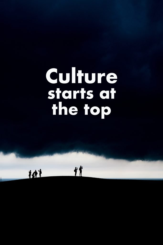 culture starts at the top