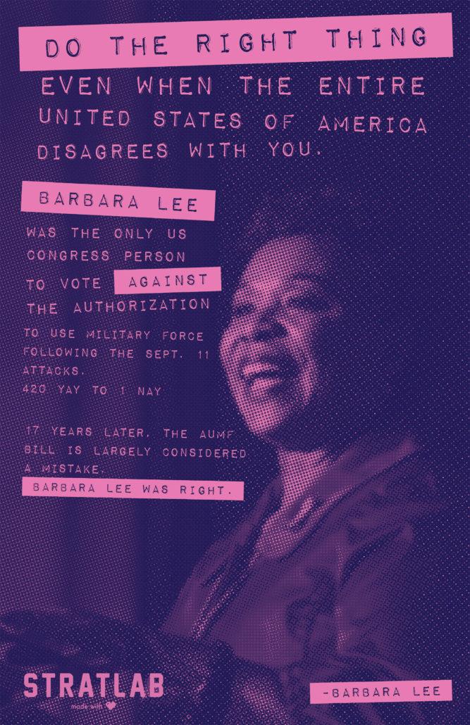 Barbara Lee-poster