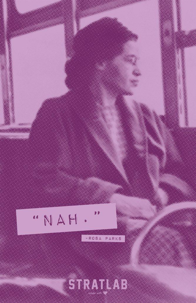 Rosa Parks-poster