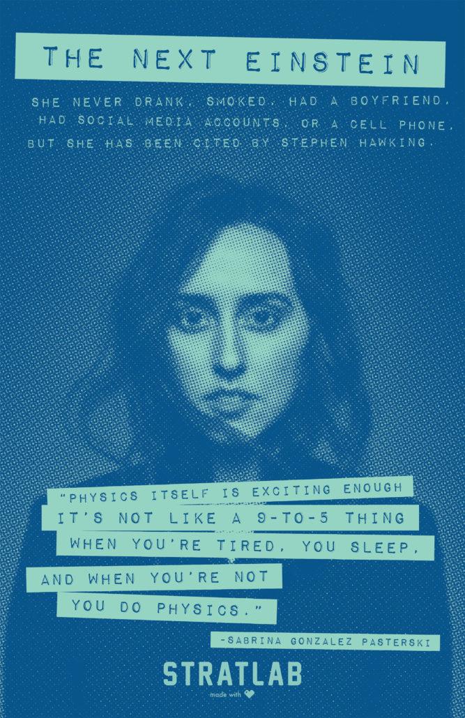 Sabrina Gonzalez Pasterski-poster