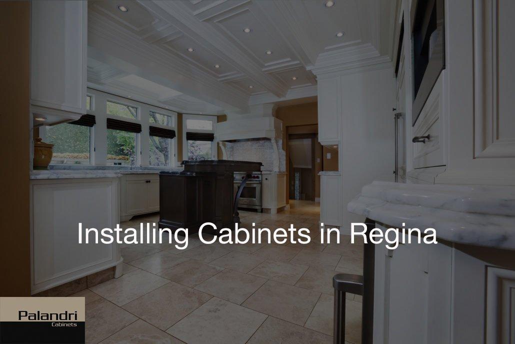 installing cabinets in regina
