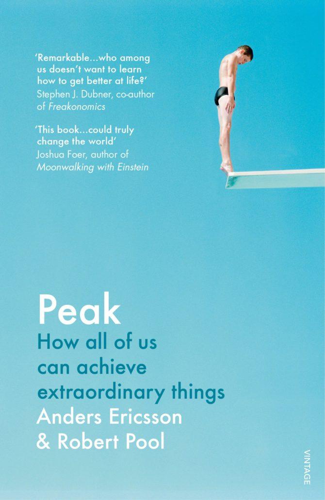 Peak by Anders Ericsson book