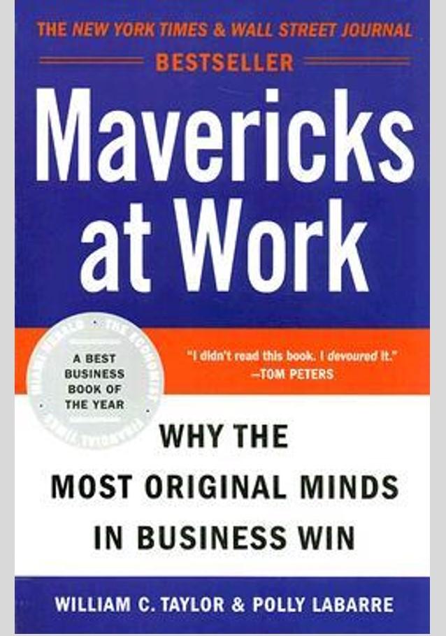 mavericks at work book