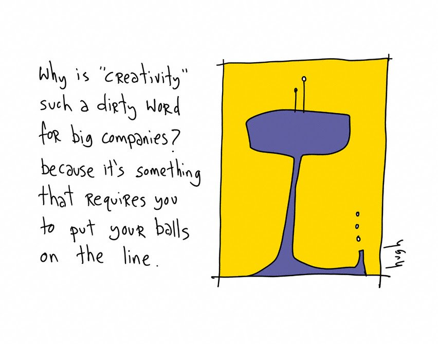 Why is creativity such a dirty word