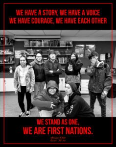 we are first nations-poster